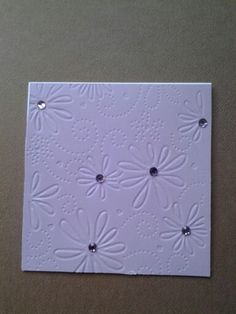 All purple made by Lynne Toops