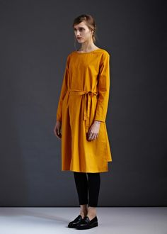 Formation Dress by Kowtow. Ethical organic cotton.