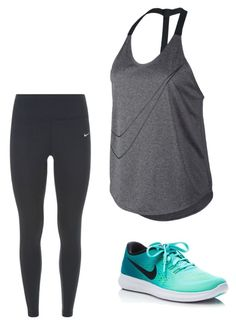 """""""Untitled #18"""" by hongjina on Polyvore featuring NIKE"""