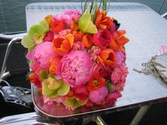 So so colorful! Perfect combination of flowers too :)