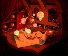 disney concepts & stuff Visual Development from Treasure Planet