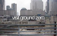 visit ground zero the bucket list, bucketlist, twin towers, life changing, 10 years, ground zero, new york city, place, bucket lists