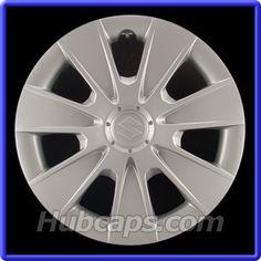 Suzuki SX4 Hub Caps, Center Caps & Wheel Covers - Hubcaps.com #Suzuki #SuzukiSX4 #SX4 #HubCaps #HubCap #WheelCovers #WheelCover