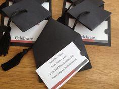 Graduation Cap Invitation Pinteres