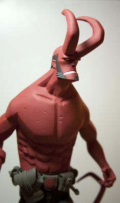 "Classics second bomb! Mike Mignola Edition Scale ""Hellboy"" statue Second Edition Character Modeling, 3d Character, Vinyl Toys, Vinyl Art, Toy Art, Art Jouet, Toy People, Modelos 3d, Geek Art"