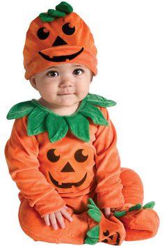 cute kids pumpkin costume