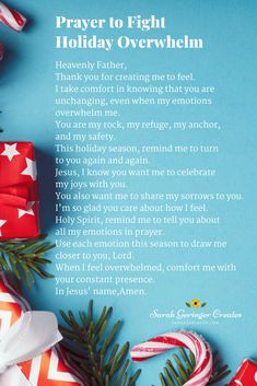The holiday season is upon us, and overwhelm can come along with the special joys. If you are feeling the holiday overwhelm today, you can find peace and encouragement through Christian meditation and this prayer. #prayer #peace #christmaspeace #christmas Prayer Prayer, Daily Prayer, Strong Faith, Faith In God, Sample Prayer, Importance Of Prayer, Overwhelmed By Life, You Are My Rock, Who Created You