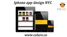 Iphone app design NYC : full service iPhone app design and development agency at colure Ios Application Development, Mobile Application, App Development, Moleskine, Iphone App Design, Site Design, Homescreen, Digital Marketing, Nyc