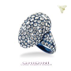 anelli in titanio e diamanti rose cut #ghidinigioielli #brescia #bresciacentro #diamonds #italy #fashion #style