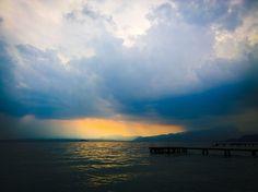 Jezioro Garda - Patchwork