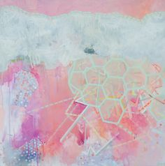 Six (2011) Original acrylic on canvas painting.. $850.00, via Etsy.