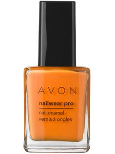Avon Nailwear Pro Nail Enamel in Orange Creamsicle: voted one of the best polish colors of summer by Allure magazine!  shop now: http://lmarson.avonrepresentative.com/