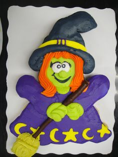 cute witch - 24 cupcakes buttercream