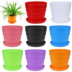 Aquarius GlassHome 12 Constellation Luminous Clay Pot 12 Constellation Gardening Hand-Painted Pot Ceramic Stoneware Pot
