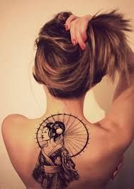Image result for geisha tattoos