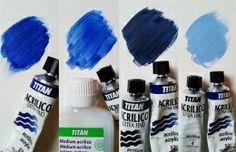 MUCHOS ACRÍLICOS EN UNO Hay muchos tonos en un sólo ACRÍLICO EXTRA FINO TITAN. Tenemos el color puro, sin diluir, pero si lo mezclamos con el MEDIUM ACRÍLICO TITAN obtendremos un tono algo más ligero y mucho más flexible. Al mezclarlo con color negro o blanco podremos obtener toda una gama de colores .   Ficha producto