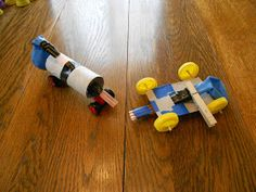Almost Unschoolers: Building Balloon Powered Racers