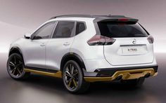 2018 Nissan X-Trail Concept Rear Angle