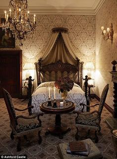 I would love to sleep in this bed,looks so beautiful! #victorian #bedroom #authentic @artisanslist ❤️❤️❤️  love this. I'd get rid of the people on the post and make it round. I don't know about the chandelier I want the bed only