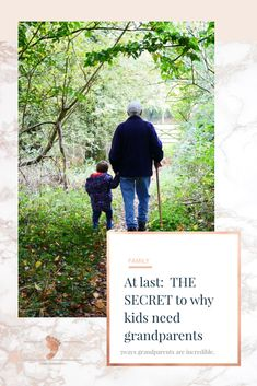 At last: the secret to why kids need grandparents. Find out the 5 ways grandparents are incredible. You can find this and more AtGrandmasPlace.com