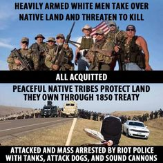 I live in Oregon. I didn't know anyone that wanted them here.  #istandwithstandingrock