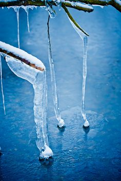 Icicles by Annemette Kuhlmann, via 500px