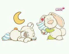 NICI Bear & Bunny