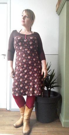 Outfit of the Day: Tante Betsy Dress Tammy Winterflower Brown