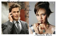 So far (for today at least, i change my mind between him and henry cavill!) these are my picks as well for Christian and Ana! fifty shades - e l james