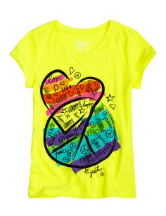 Love & Peace Tee | Peace Love & Justice | Graphic Tees | Shop Justice