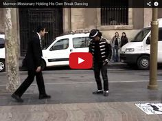 Missionary Wows in Street Dance Battle (Video) #lds #mormon #missionary