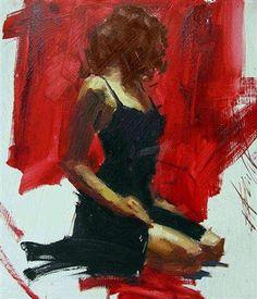 Captivation-Henry Asencio I want this piece Sketch Painting, Figure Painting, Figure Drawing, Art Noir, Tableaux Vivants, Arte Pop, Woman Painting, Portrait Art, Erotic Art