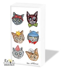 Embroidered Towels, Funny Cats, Flowers, Napkins, Environment, Kraft Paper, Glass Bottles, Book Folding, Card Stock