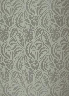 Art Deco Wall Stencils | Deco Foliage Fill Stencil, DYI Home Decor/Wall Art/Designer Stencil ...