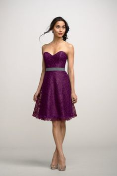 Encore Dress Hydrangea Style 2252E | Watters.com