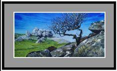 600 x 300mm acrylic on panel. albrownartist.com Dartmoor, Night, Brown, Artwork, Work Of Art, Auguste Rodin Artwork, Brown Colors, Artworks, Illustrators
