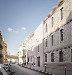 LAN . Bonnat-Helleu City Art Museum . Bayonne (2) Lan Architecture, Classical Architecture, City Art, Art Museum, Vs, Street View, Refurbishment, World, Travel