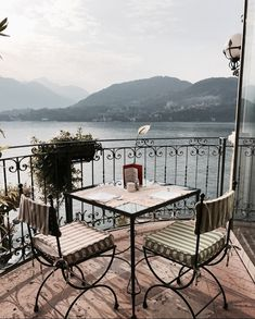 Lifestyle of the Rich & Famous: Photo Balcony Design, Window View, Outdoor Furniture Sets, Outdoor Decor, Travel Aesthetic, Oh The Places You'll Go, Beautiful Places, Scenery, Destinations
