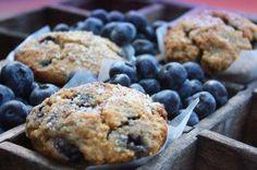 Blueberry Almond Crumb Muffins Gluten Free