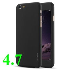FLOVEME 360 Degree Full Protect PC Phone Cover for iPhone 6 6s Plus Case Bag Shell Top Touch with Tempered glass Coque Fundas