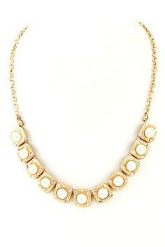 Penelope Pearl Studs Necklace