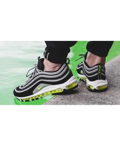 the best attitude 9e24e b31bb Nike Air Max 97 Black Volt Sale