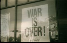 War is Over! If you want it - John Lennon by Nesster, via Flickr