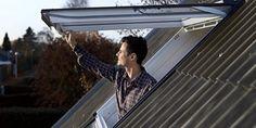 Fenêtre de toit à projection - une vue panoramique et une impression d'espace - Type GP-