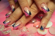 Pink && blue