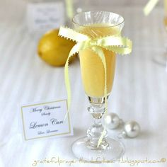 With a Grateful Prayer and a Thankful Heart: Lemon Curd