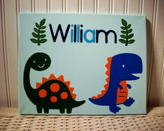 Hey, I found this really awesome Etsy listing at https://www.etsy.com/listing/214357521/dinosaurs-name-sign-personalized-boys
