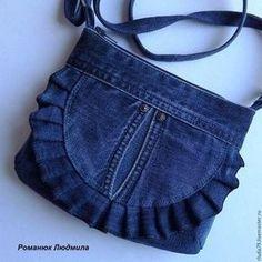 Jean Purses Purses And Bags Jeans Fabric Denim Patchwork Denim Ideas Bolsas Jeans Handbag Patterns Sachet Recycle JeansImage gallery – Page 33917803429899574 – ArtofitBest 11 Beautiful denim jeans tote with lace – Salvabrani – SkillOfKing. Denim Tote Bags, Denim Handbags, Denim Purse, Purses And Handbags, Denim Bags From Jeans, Tote Purse, Diy Jeans, Sewing Jeans, Sewing Diy