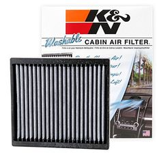 K&N VF2004 Washable & Reusable Cabin Air Filter Cleans and Freshens Incoming Air for your Isuzu, Nissan, Mitsubishi #Washable #Reusable #Cabin #Filter #Cleans #Freshens #Incoming #your #Isuzu, #Nissan, #Mitsubishi