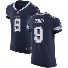ae6c1a47e31 Nike Cowboys #9 Tony Romo Navy Blue Team Color Men's Stitched NFL Vapor  Untouchable Elite